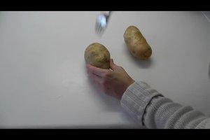 Ofenkartoffeln in Alufolie zubereiten - ein Rezept