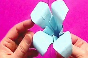 Origami-Faltanleitungen für Blumen - Seerose und Lilie gelingen so
