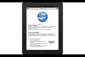 OpenOffice und iPad – so öffnen Sie Dateien