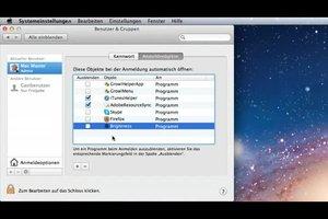 Bei Mac die Autostart-Programme entfernen - so geht's
