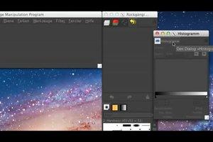 Bei GIMP Dialoge andocken - so klappt's