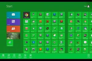 Bei Windows 8 die Metro-Ansicht anpassen - so funktioniert's