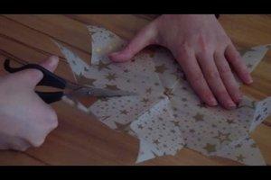 Sterne falten - Anleitung