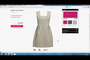 Ein Kleid online designen - so geht's