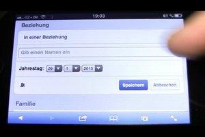 Den Beziehungsstatus auf Facebook  über das iPhone ändern - so geht's