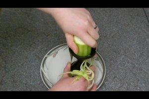 Zucchini als Spaghetti - so werden sie hergestellt