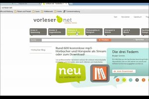 Hörbuch kostenlos downloaden - so geht's legal