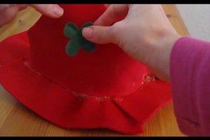 Faschingshüte selber machen - so geht's aus Filz