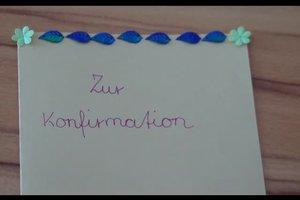 Konfirmationskarten selbst gestalten - kreative Ideen