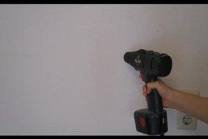 Löcher bohren - so finden Sie Stromleitungen in der Wand