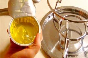 Brennpaste für Fondue richtig benutzen - so wird's gemacht