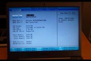 Windows 7 - Bios öffnen