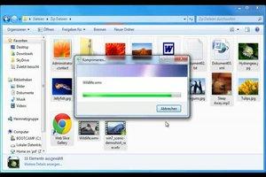 Windows Zip-Datei - so erstellen Sie sie richtig