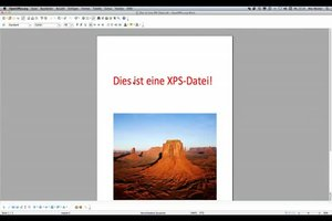 XPS-Dateien bearbeiten - so geht's