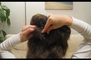 Lockenwickler: lange Haare eindrehen - so geht's