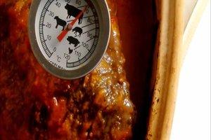 Hirschbraten bei Niedrigtemperatur zubereiten  - so klappt's