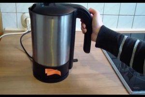 Wasserkocher entkalken mit natürlichen Mitteln - so geht's