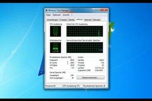 Bei Windows 7 den RAM anzeigen lassen - so funktioniert's