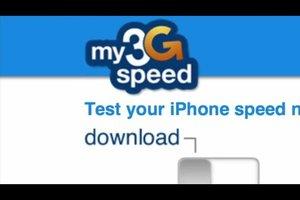 3G-Geschwindigkeit testen - so geht's