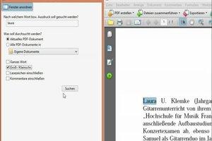 PDF-Suche richtig nutzen - so klappt's