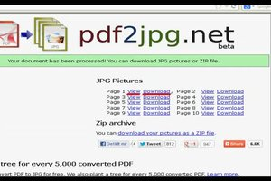 PDF in JPG umwandeln - online funktioniert's so