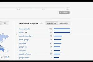 Bei Google Suchanfragen-Statistik aufrufen - so geht's