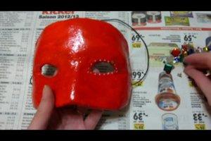 Karneval - Maske selber basteln
