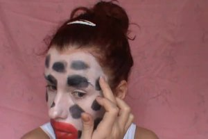 Schminktipps als Kuh - so gelingt das Faschings-Make-up