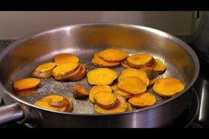 Süßkartoffel - Zubereitung als leckere Bratenbeilage