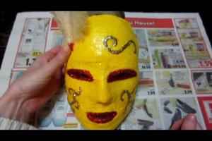 Venezianische Masken selber machen
