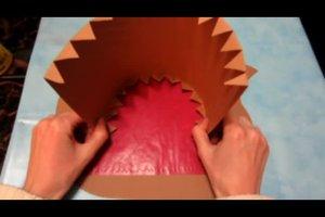 Laternen basteln im Kindergarten - so machen Sie einen Igel