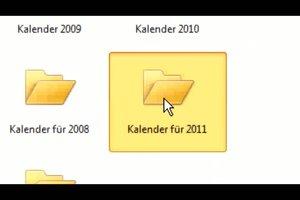 Kalender in Excel einfügen - so funktioniert´s