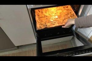 Kartoffelchips selber machen - so gelingt es fettarm