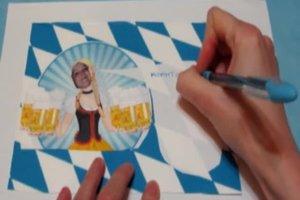 Bayerische Geburtstagseinladung originell gestalten