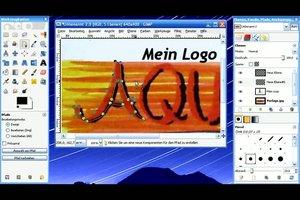 Ein Logo erstellen mit GIMP - so geht´s