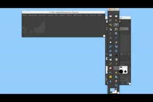GIMP: Werkzeugkasten verschwunden - so öffnen Sie geschlossene Dialogfelder