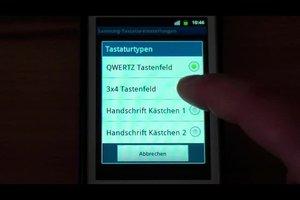 Android: QWERTZ-Tastatur auf Tastenfeld umstellen - so geht's