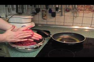 Burgerfleisch selber machen - so geht's