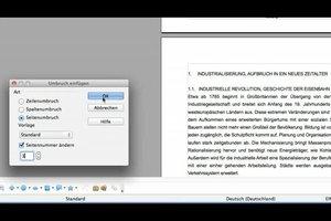 Bei OpenOffice Seitennummerierung ab Seite 3 einstellen - so geht's