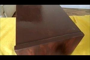 Video Furniertes Holz Lackieren So Funktioniert S
