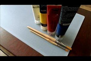Hautfarbe mischen aus Acryl - so geht's