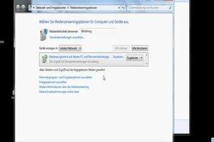 Media Server in Windows 7 einrichten - so geht's