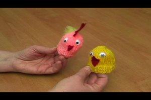 Stricken für Ostern - so gelingen hübsche Eierwärmer