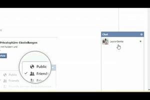 Facebook-Chat - Daumen-runter-Symbol einfügen