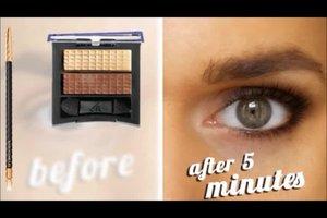 Augen-Make-up für braune Augen - so schminken Sie sich typgerecht