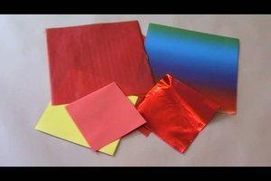 Wie falte ich ein Origami-Herz?