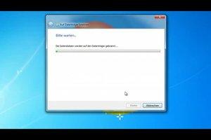 Unter Windows 7 eine DVD brennen - so geht's