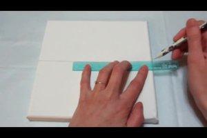 Wanddekoration selber machen - Anleitung