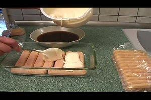 Rezept für Tiramisu - original italienisches Dessert