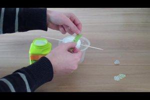 Ostereier - mit Serviettentechnik Eier verzieren